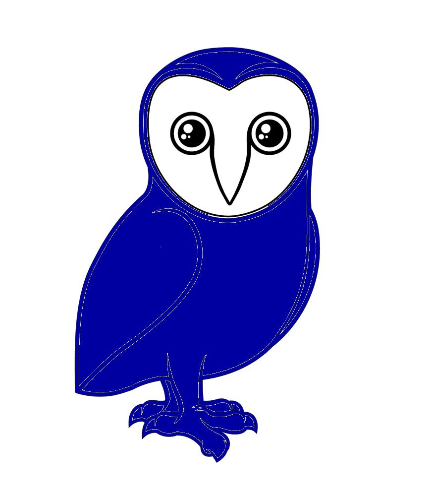Blå-Ugle